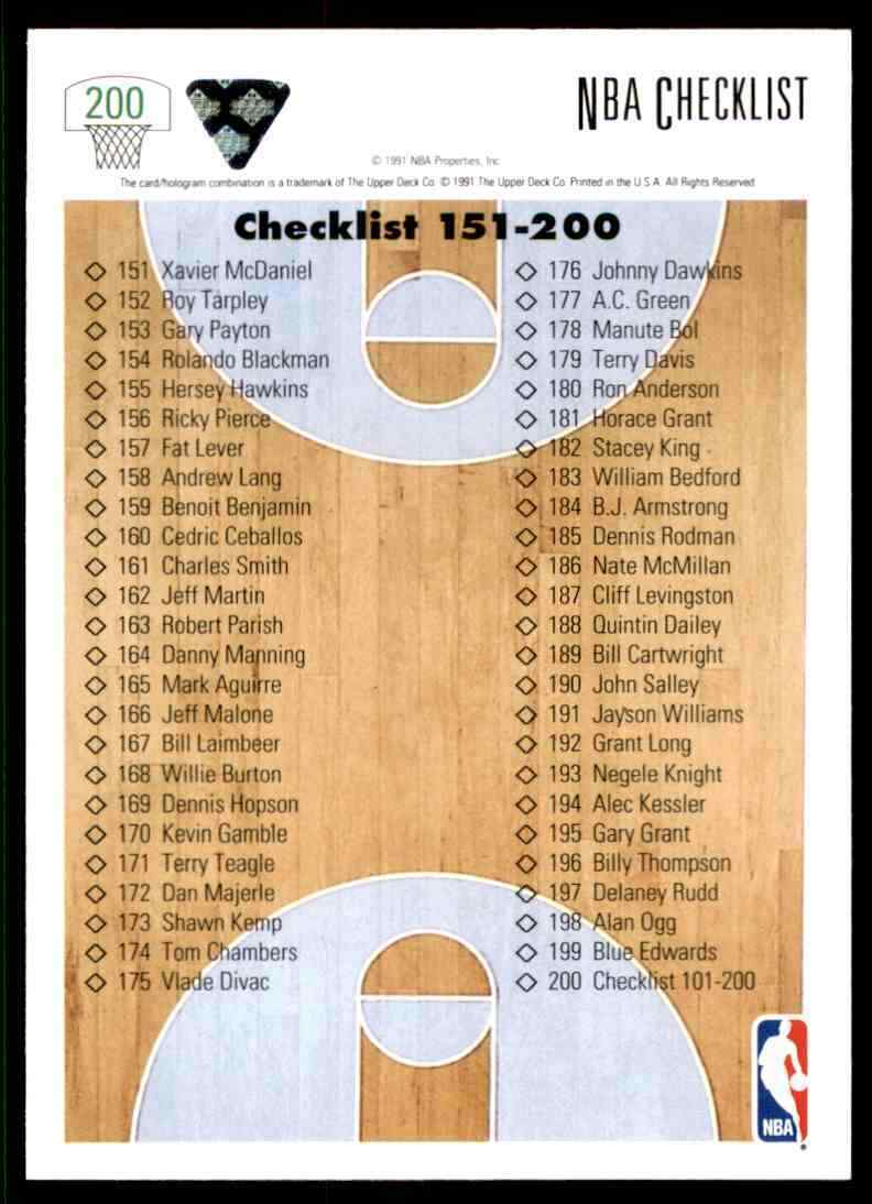 thumbnail 74 - 1991-92 Upper Deck Basketball NBA Choose Your Player -Real Pics Rookie Star (B)