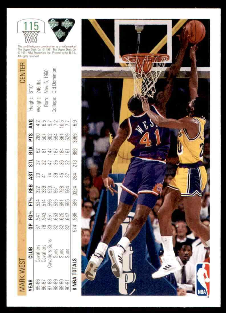 thumbnail 336 - 1991-92 Upper Deck Basketball NBA Choose Your Player -Real Pics Rookie Star (B)