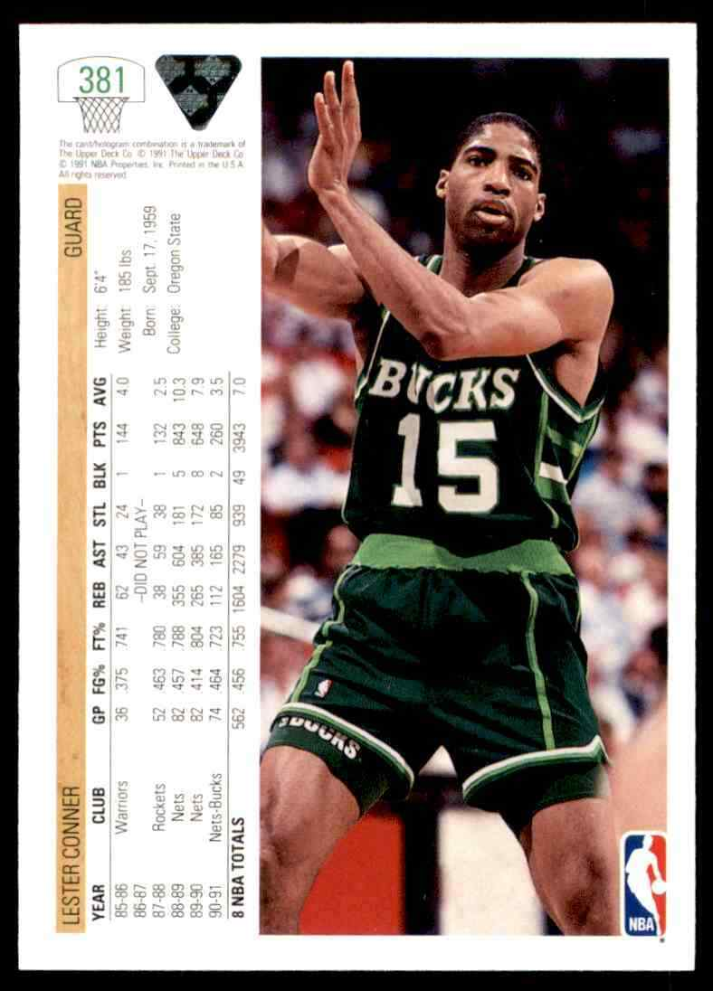thumbnail 308 - 1991-92 Upper Deck Basketball NBA Choose Your Player -Real Pics Rookie Star (B)