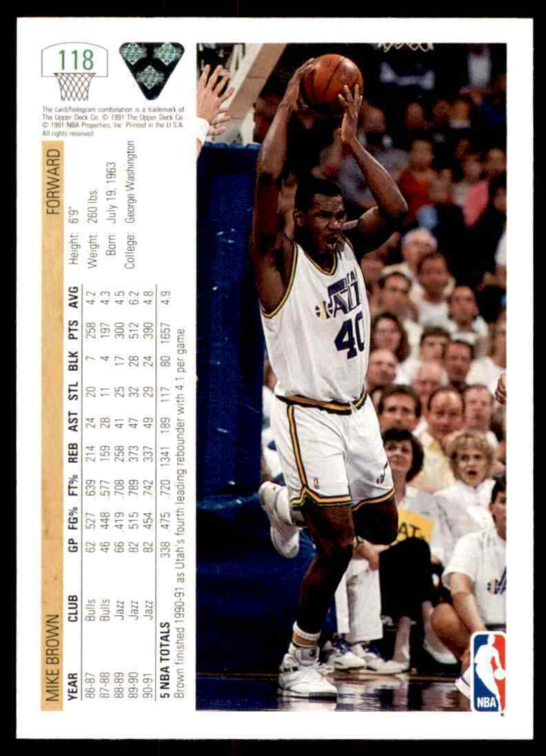 thumbnail 348 - 1991-92 Upper Deck Basketball NBA Choose Your Player -Real Pics Rookie Star (B)