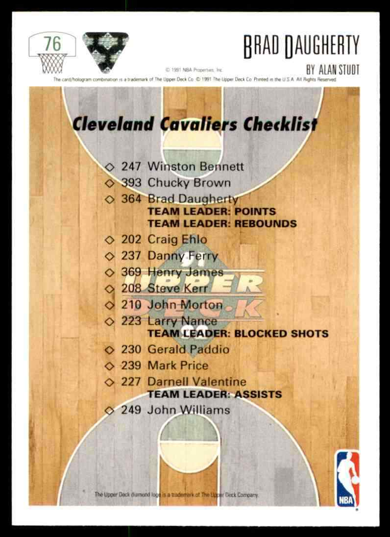 thumbnail 60 - 1991-92 Upper Deck Basketball NBA Choose Your Player -Real Pics Rookie Star (B)