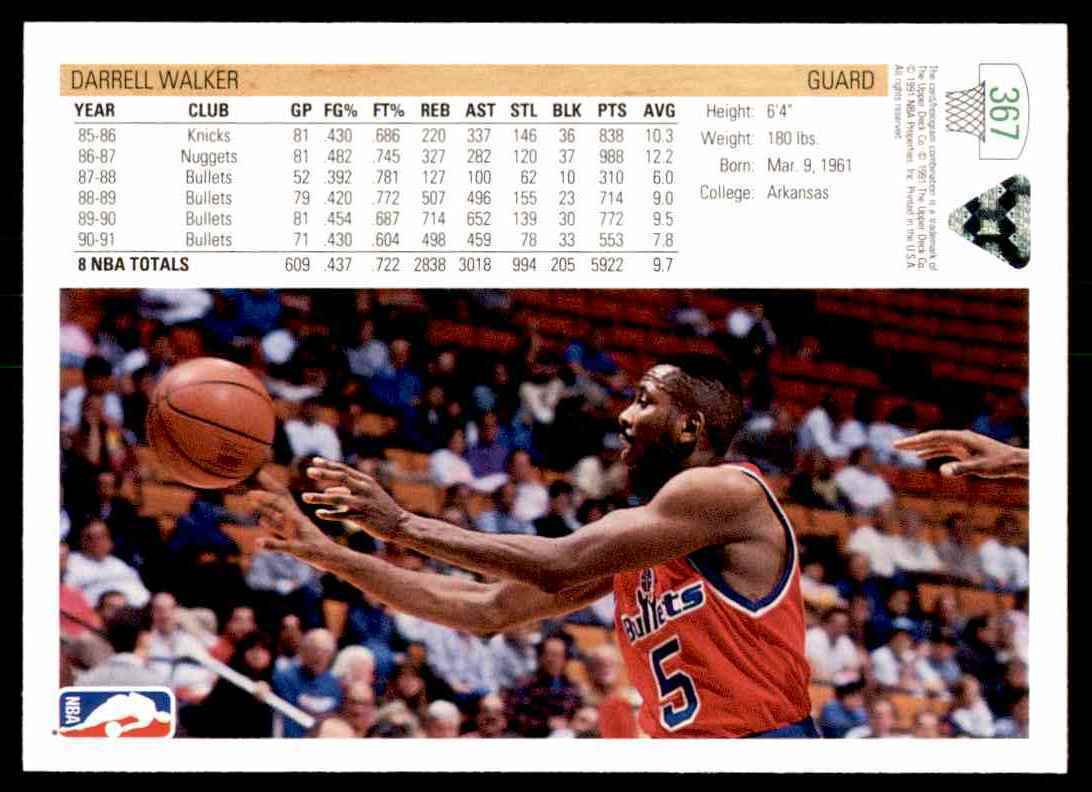 thumbnail 122 - 1991-92 Upper Deck Basketball NBA Choose Your Player -Real Pics Rookie Star (B)