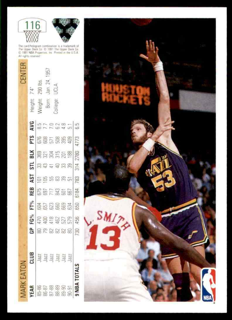 thumbnail 322 - 1991-92 Upper Deck Basketball NBA Choose Your Player -Real Pics Rookie Star (B)