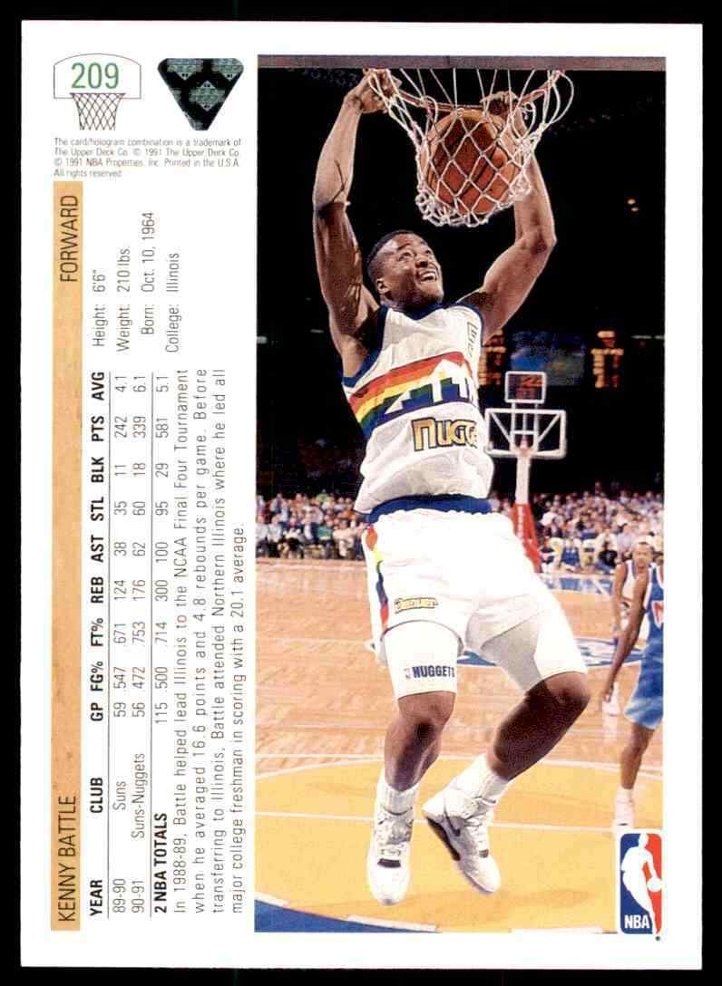 thumbnail 282 - 1991-92 Upper Deck Basketball NBA Choose Your Player -Real Pics Rookie Star (B)