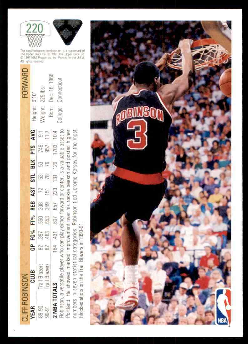 thumbnail 98 - 1991-92 Upper Deck Basketball NBA Choose Your Player -Real Pics Rookie Star (B)