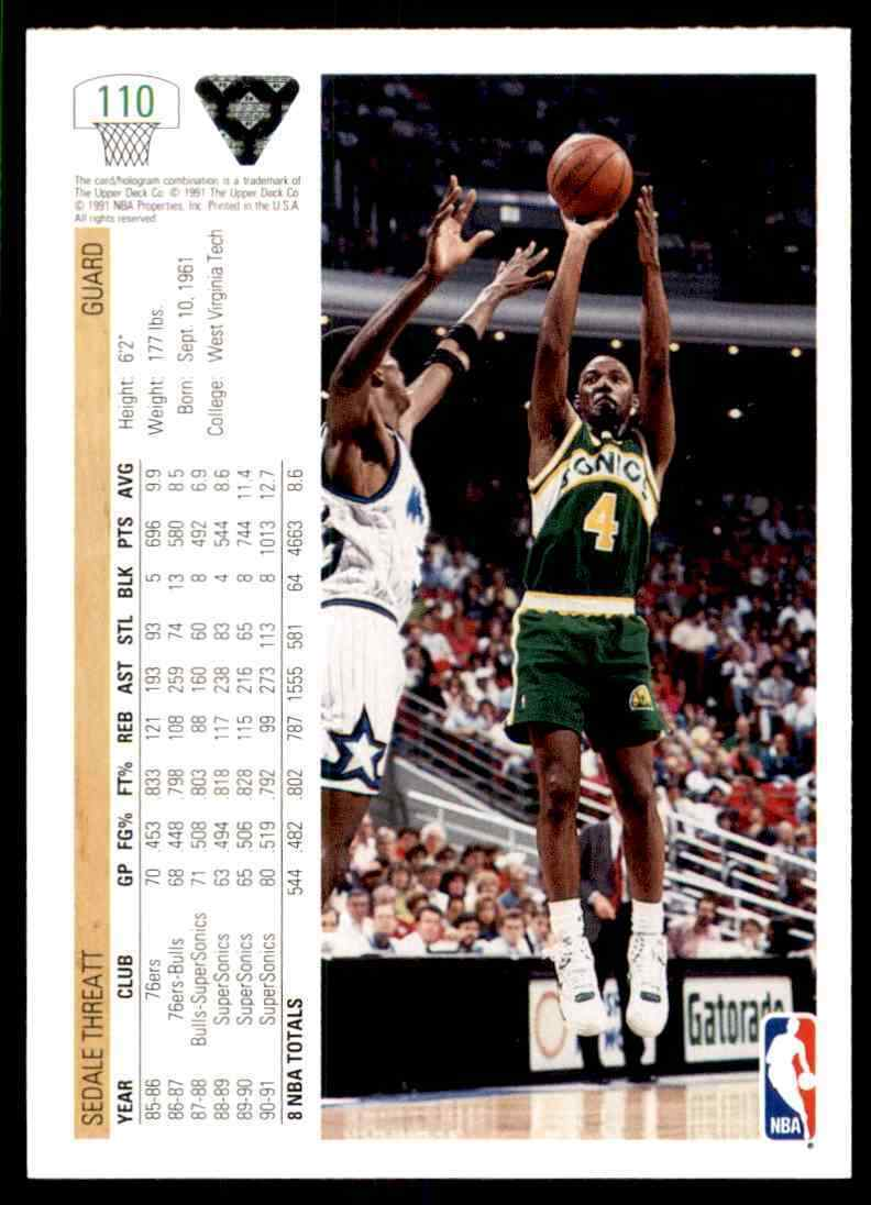 thumbnail 432 - 1991-92 Upper Deck Basketball NBA Choose Your Player -Real Pics Rookie Star (B)