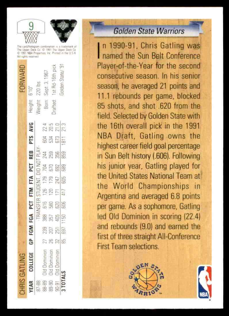 thumbnail 86 - 1991-92 Upper Deck Basketball NBA Choose Your Player -Real Pics Rookie Star (B)