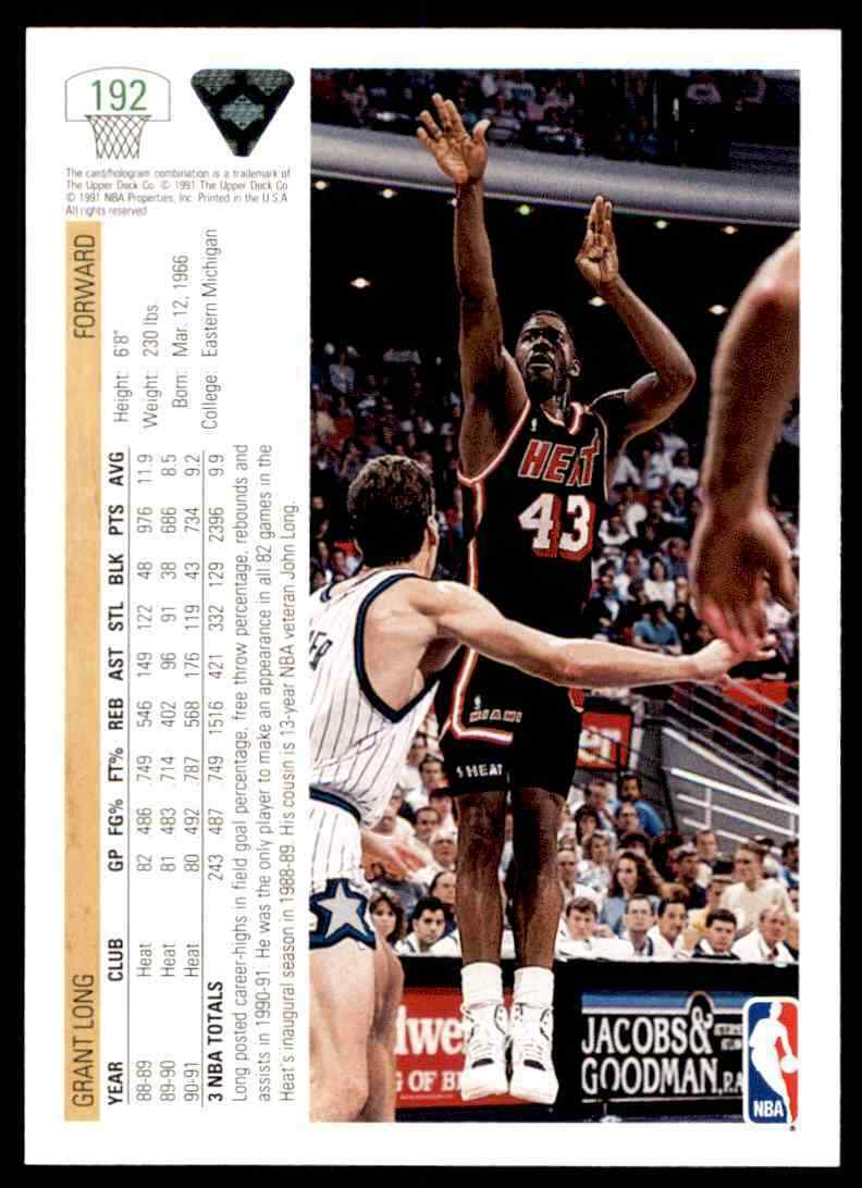 thumbnail 188 - 1991-92 Upper Deck Basketball NBA Choose Your Player -Real Pics Rookie Star (B)