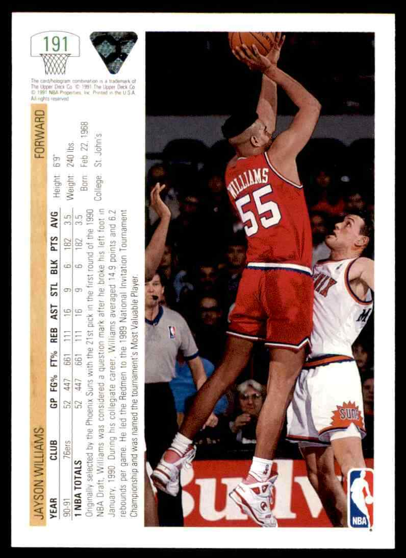 thumbnail 218 - 1991-92 Upper Deck Basketball NBA Choose Your Player -Real Pics Rookie Star (B)