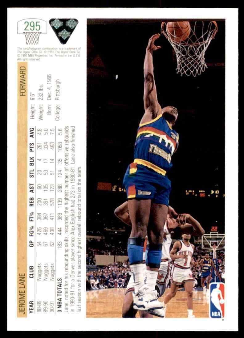 thumbnail 226 - 1991-92 Upper Deck Basketball NBA Choose Your Player -Real Pics Rookie Star (B)