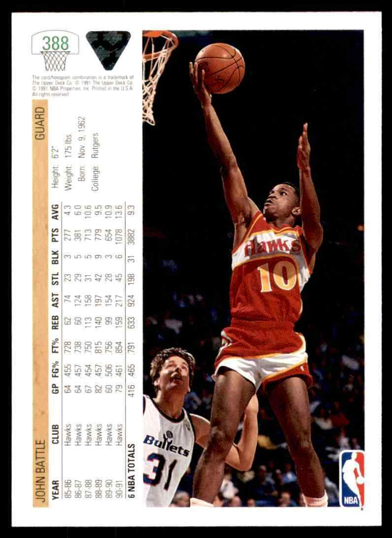 thumbnail 242 - 1991-92 Upper Deck Basketball NBA Choose Your Player -Real Pics Rookie Star (B)