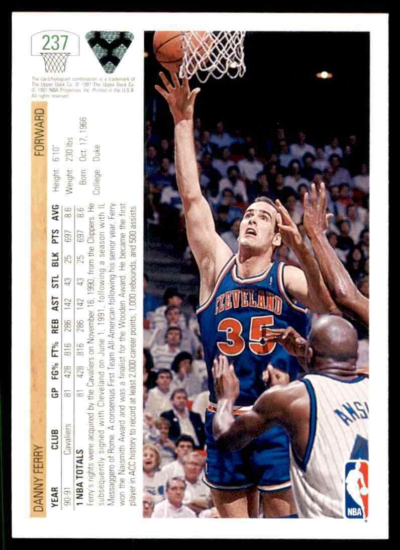 thumbnail 112 - 1991-92 Upper Deck Basketball NBA Choose Your Player -Real Pics Rookie Star (B)