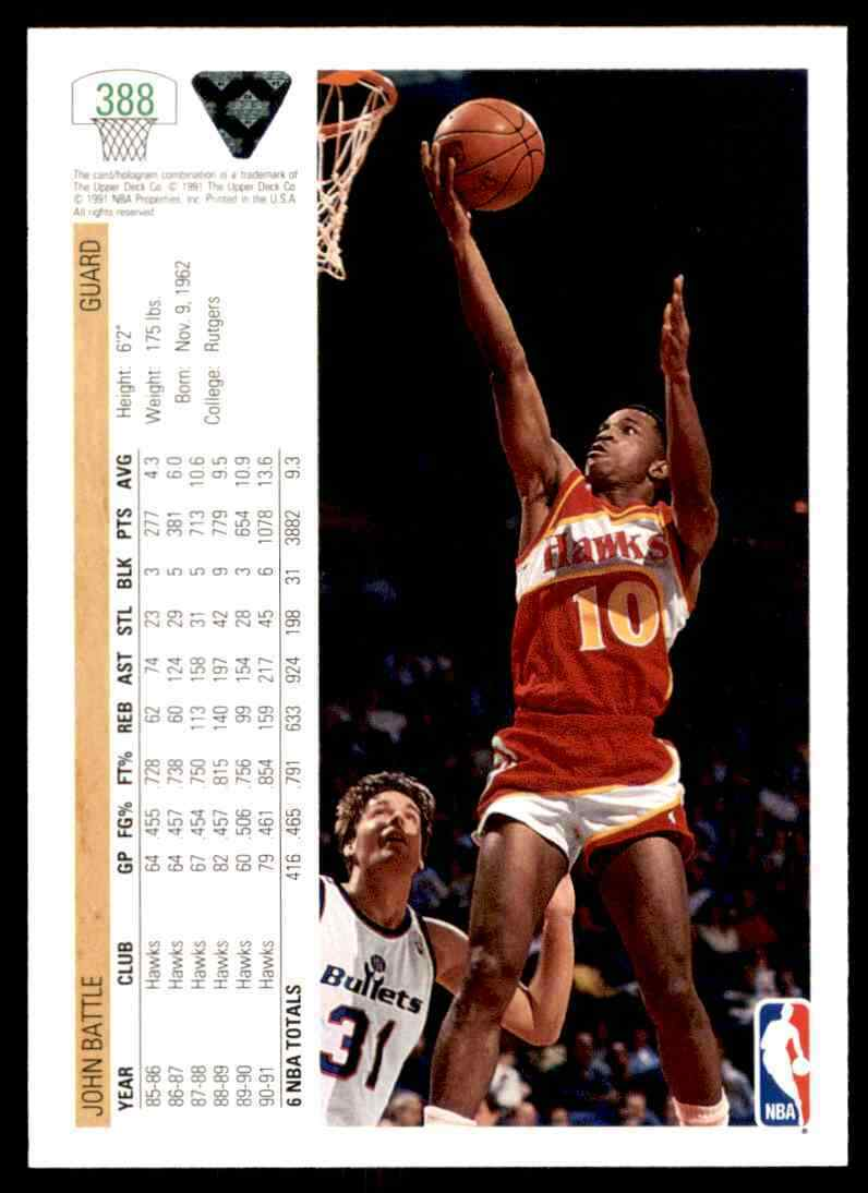thumbnail 244 - 1991-92 Upper Deck Basketball NBA Choose Your Player -Real Pics Rookie Star (B)
