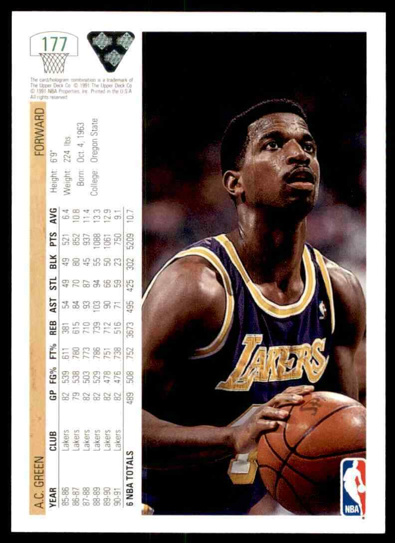 thumbnail 2 - 1991-92 Upper Deck Basketball NBA Choose Your Player -Real Pics Rookie Star (B)