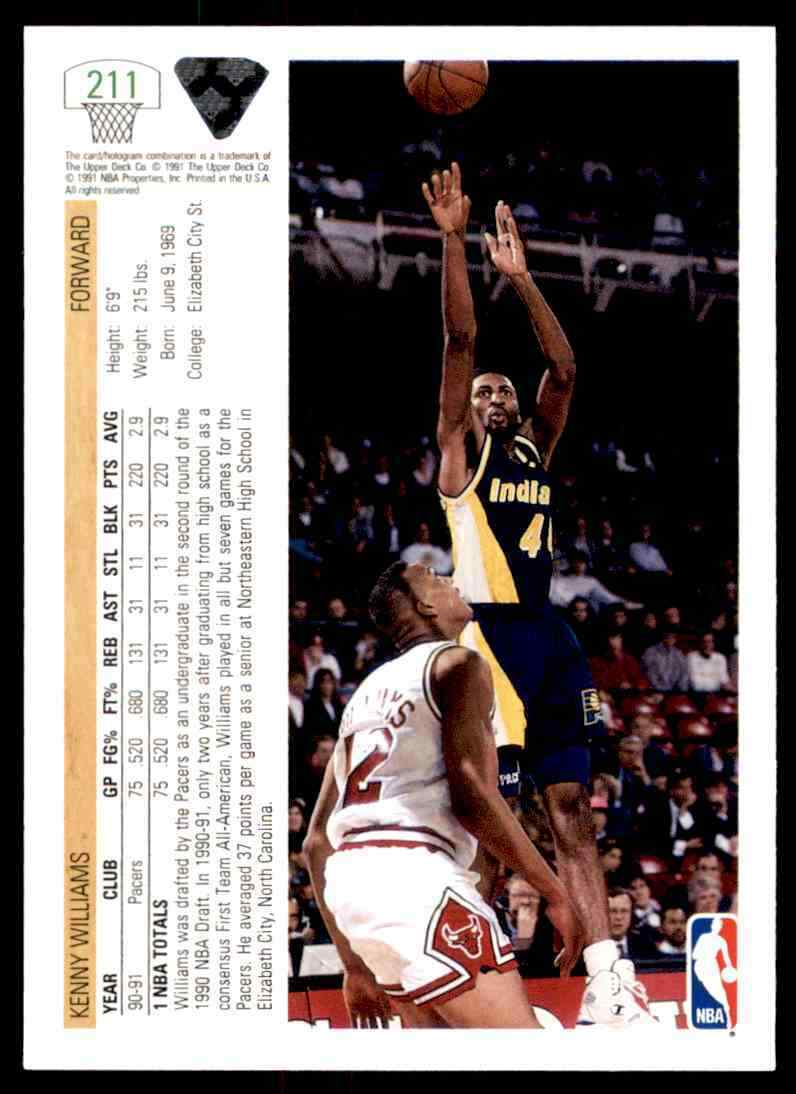 thumbnail 284 - 1991-92 Upper Deck Basketball NBA Choose Your Player -Real Pics Rookie Star (B)