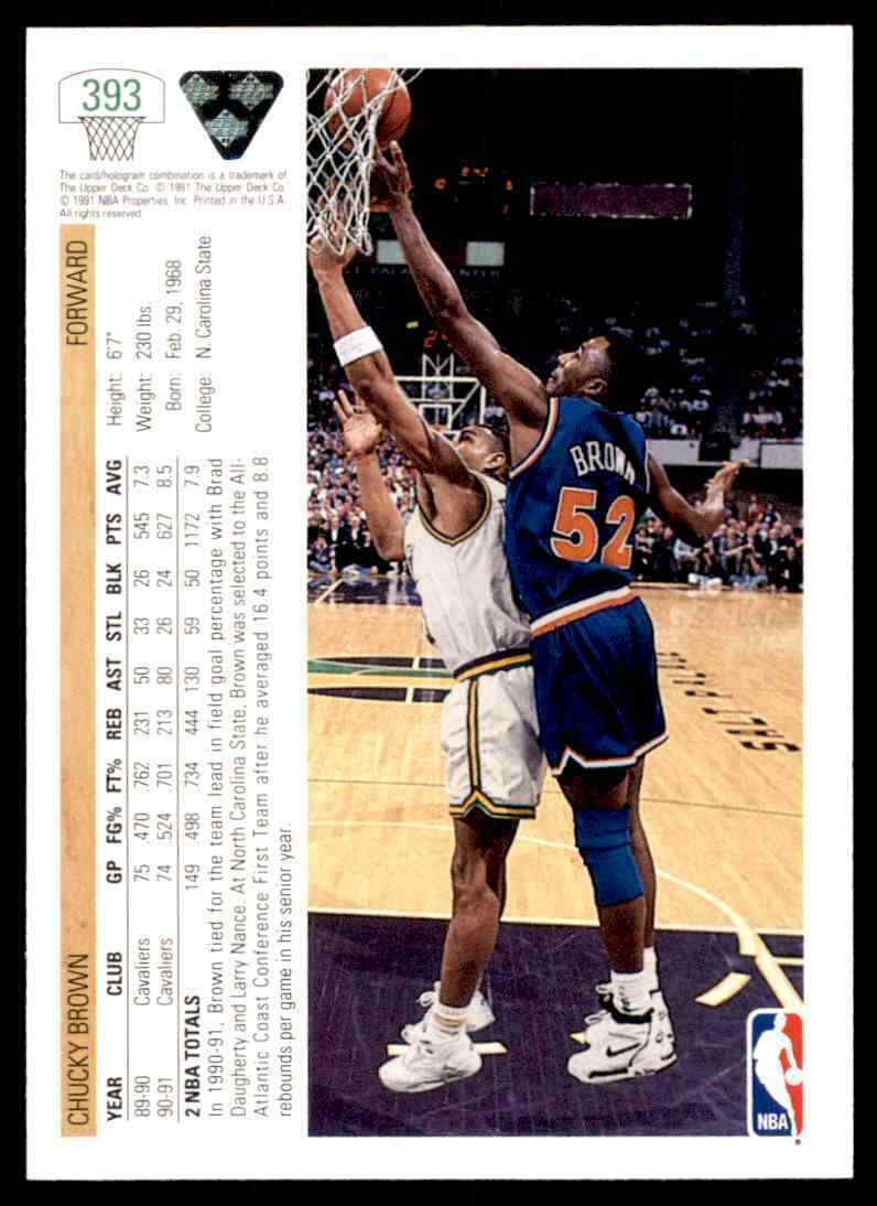 thumbnail 94 - 1991-92 Upper Deck Basketball NBA Choose Your Player -Real Pics Rookie Star (B)
