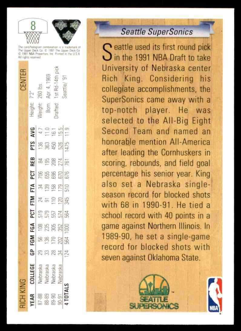 thumbnail 382 - 1991-92 Upper Deck Basketball NBA Choose Your Player -Real Pics Rookie Star (B)