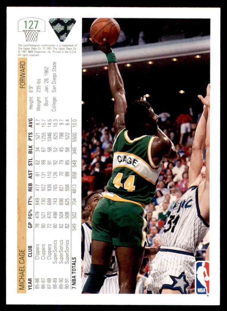 thumbnail 338 - 1991-92 Upper Deck Basketball NBA Choose Your Player -Real Pics Rookie Star (B)
