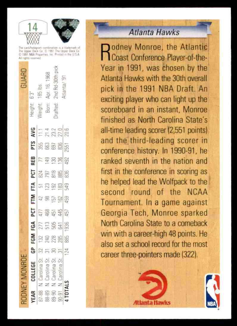 thumbnail 404 - 1991-92 Upper Deck Basketball NBA Choose Your Player -Real Pics Rookie Star (B)