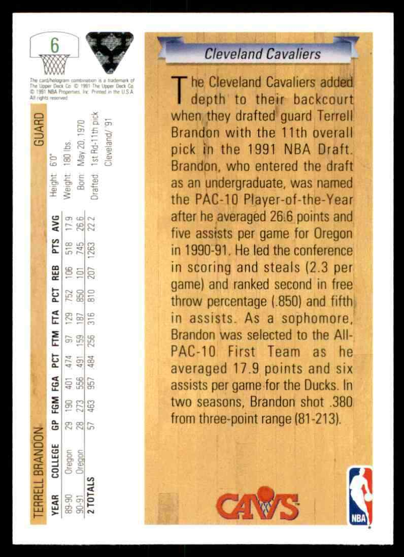 thumbnail 452 - 1991-92 Upper Deck Basketball NBA Choose Your Player -Real Pics Rookie Star (B)