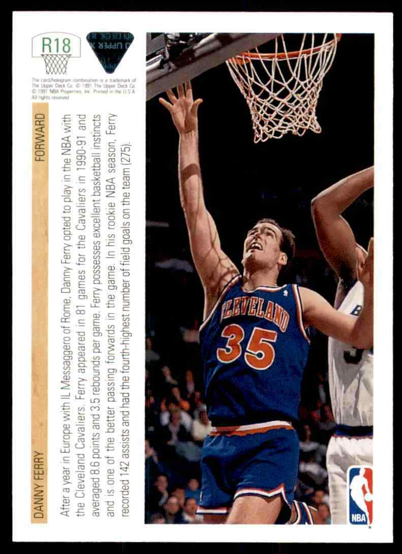 thumbnail 114 - 1991-92 Upper Deck Basketball NBA Choose Your Player -Real Pics Rookie Star (B)