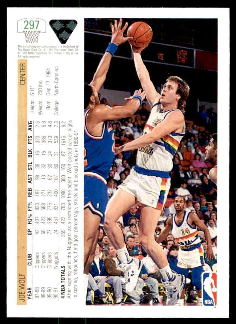 thumbnail 240 - 1991-92 Upper Deck Basketball NBA Choose Your Player -Real Pics Rookie Star (B)