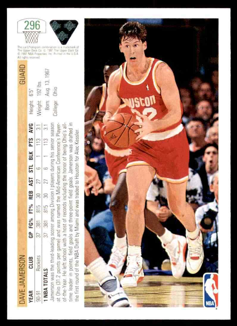 thumbnail 128 - 1991-92 Upper Deck Basketball NBA Choose Your Player -Real Pics Rookie Star (B)