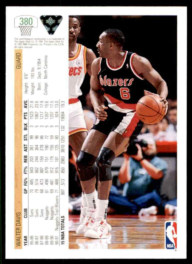 thumbnail 484 - 1991-92 Upper Deck Basketball NBA Choose Your Player -Real Pics Rookie Star (B)