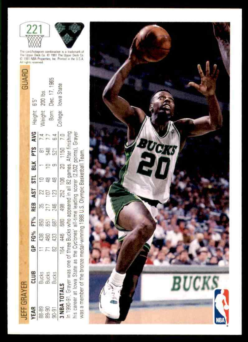 thumbnail 220 - 1991-92 Upper Deck Basketball NBA Choose Your Player -Real Pics Rookie Star (B)