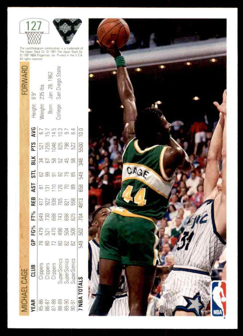 thumbnail 280 - 1991-92 Upper Deck Basketball NBA Choose Your Player -Real Pics Rookie Star (B