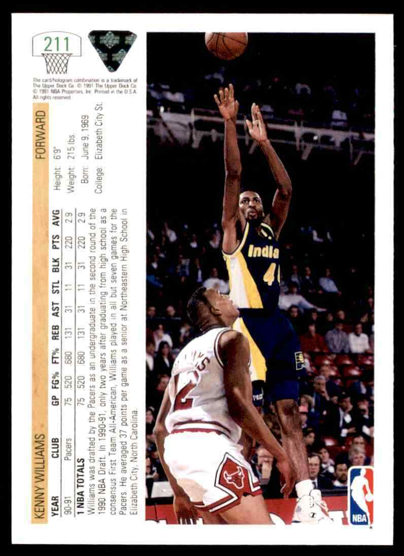 thumbnail 222 - 1991-92 Upper Deck Basketball NBA Choose Your Player -Real Pics Rookie Star (B