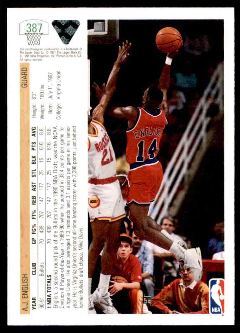 thumbnail 2 - 1991-92 Upper Deck Basketball NBA Choose Your Player -Real Pics Rookie Star (B