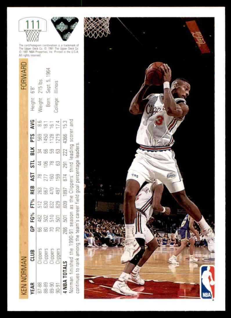 thumbnail 208 - 1991-92 Upper Deck Basketball NBA Choose Your Player -Real Pics Rookie Star (B