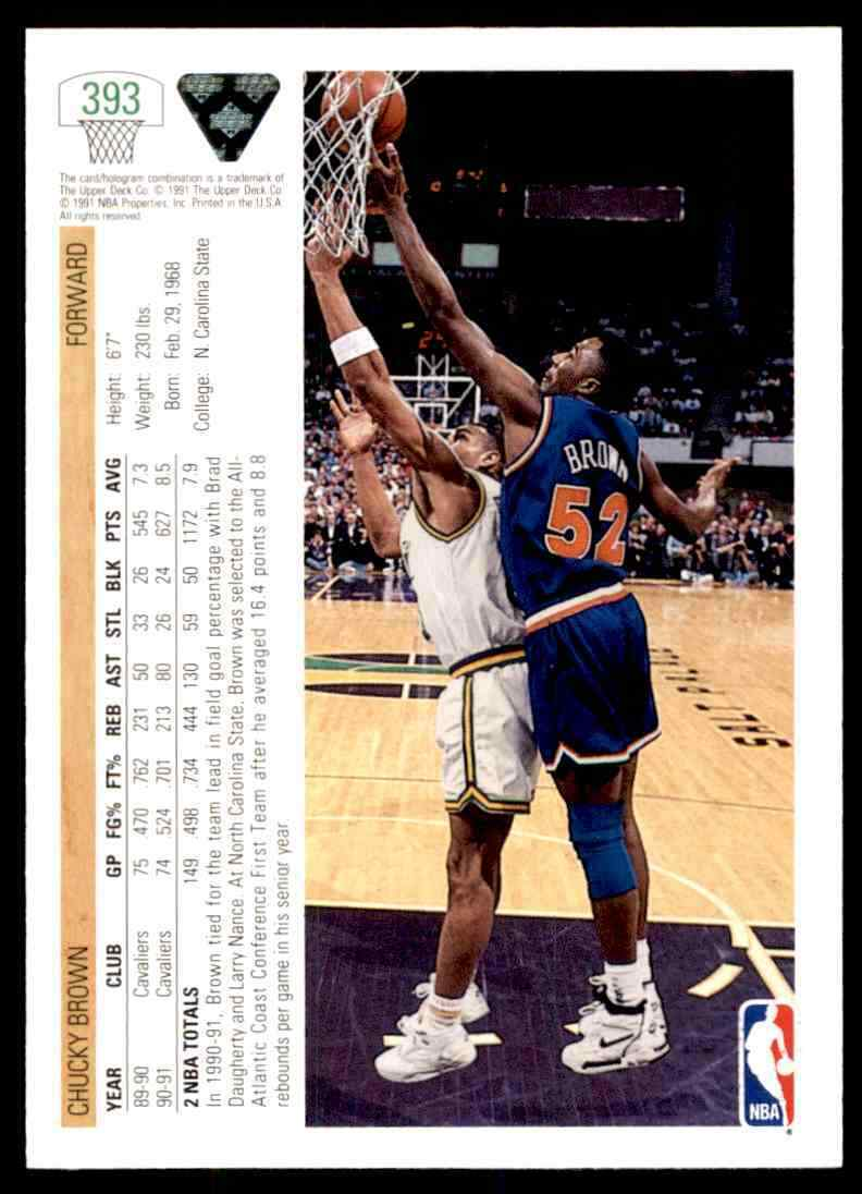 thumbnail 94 - 1991-92 Upper Deck Basketball NBA Choose Your Player -Real Pics Rookie Star (B