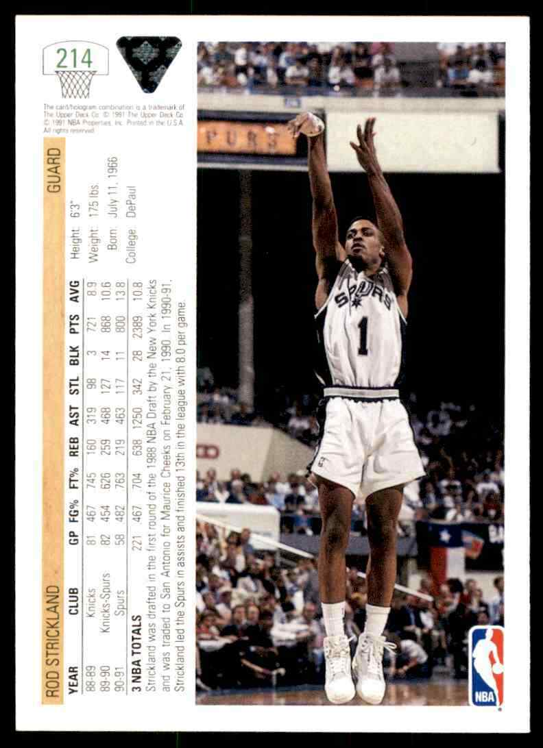 thumbnail 346 - 1991-92 Upper Deck Basketball NBA Choose Your Player -Real Pics Rookie Star (B