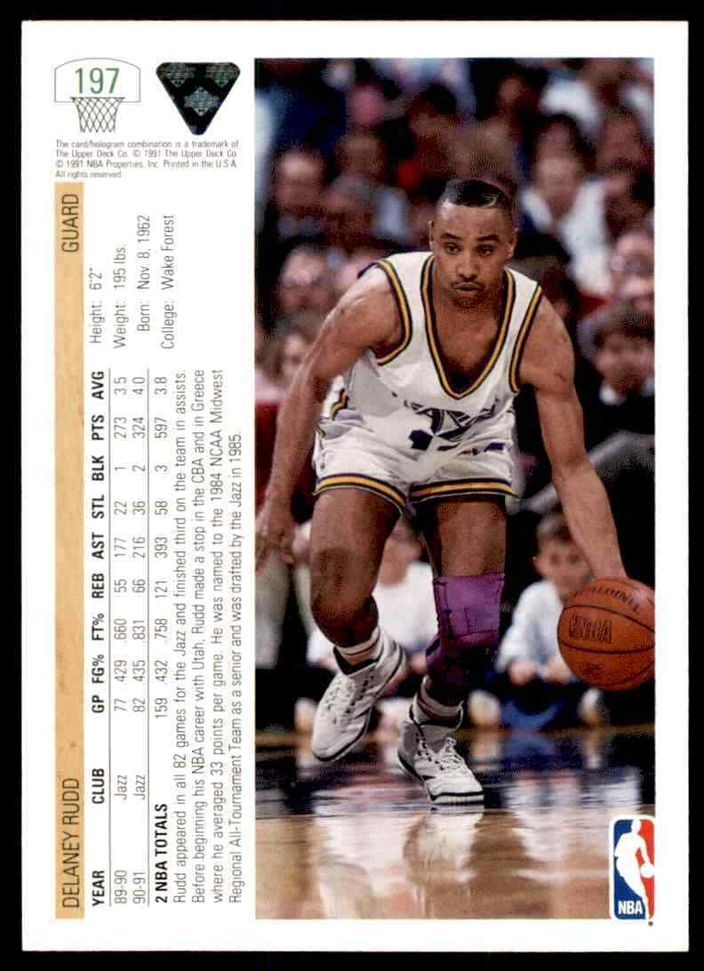 thumbnail 114 - 1991-92 Upper Deck Basketball NBA Choose Your Player -Real Pics Rookie Star (B