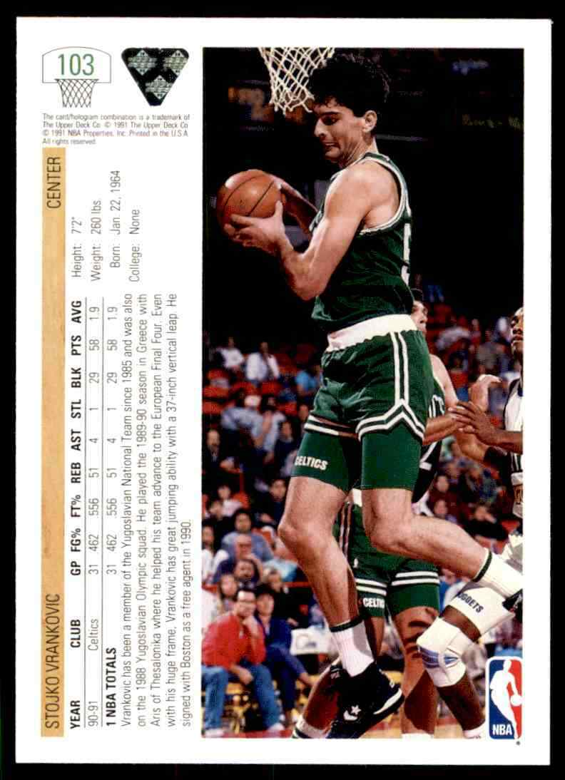 thumbnail 379 - 1991-92 Upper Deck Basketball NBA Choose Your Player -Real Pics Rookie Star (B