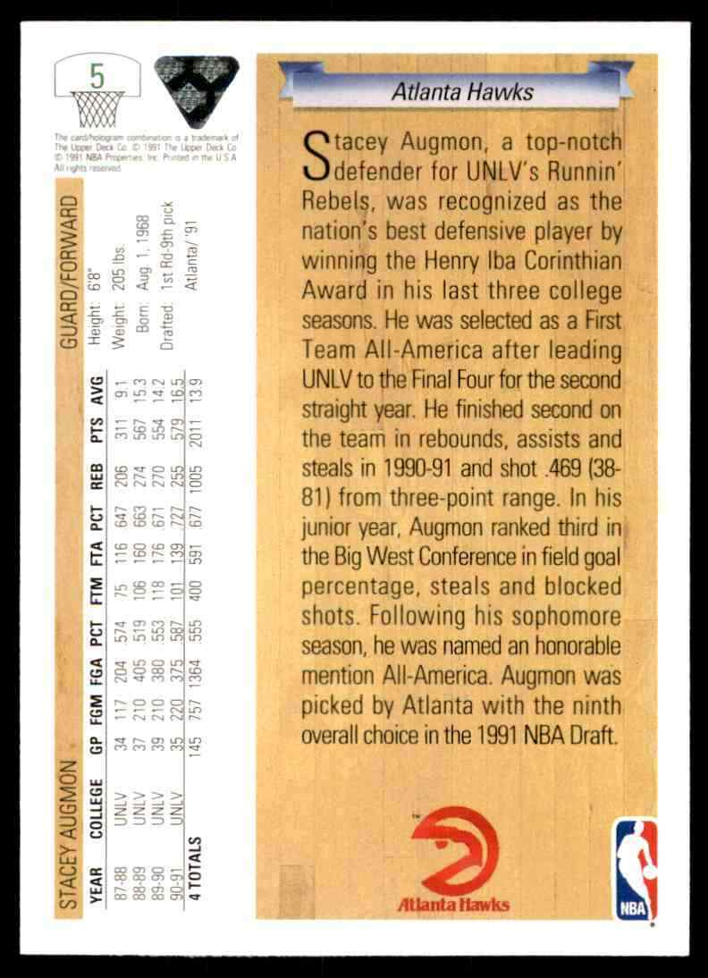 thumbnail 375 - 1991-92 Upper Deck Basketball NBA Choose Your Player -Real Pics Rookie Star (B