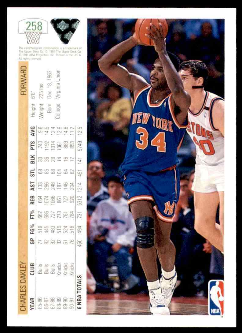 thumbnail 70 - 1991-92 Upper Deck Basketball NBA Choose Your Player -Real Pics Rookie Star (B
