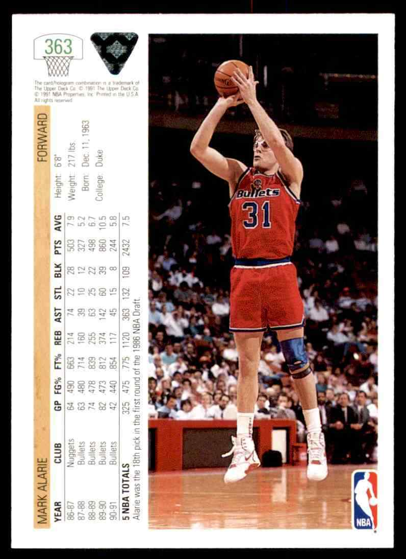 thumbnail 258 - 1991-92 Upper Deck Basketball NBA Choose Your Player -Real Pics Rookie Star (B