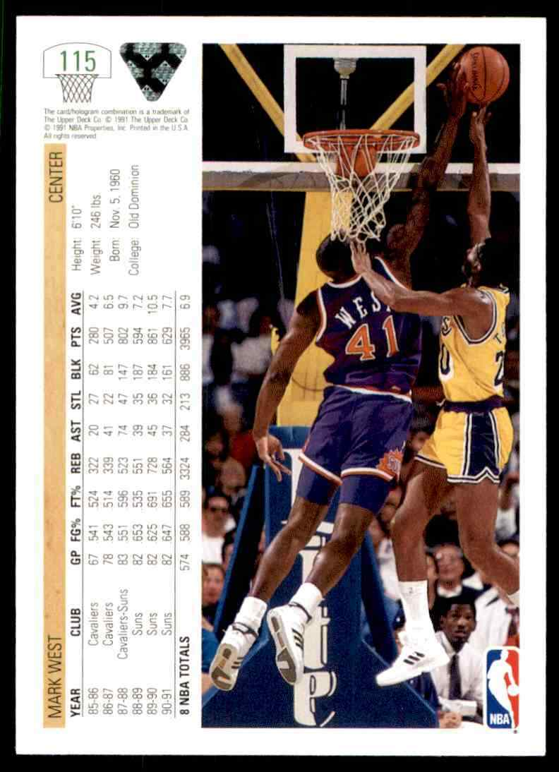 thumbnail 274 - 1991-92 Upper Deck Basketball NBA Choose Your Player -Real Pics Rookie Star (B