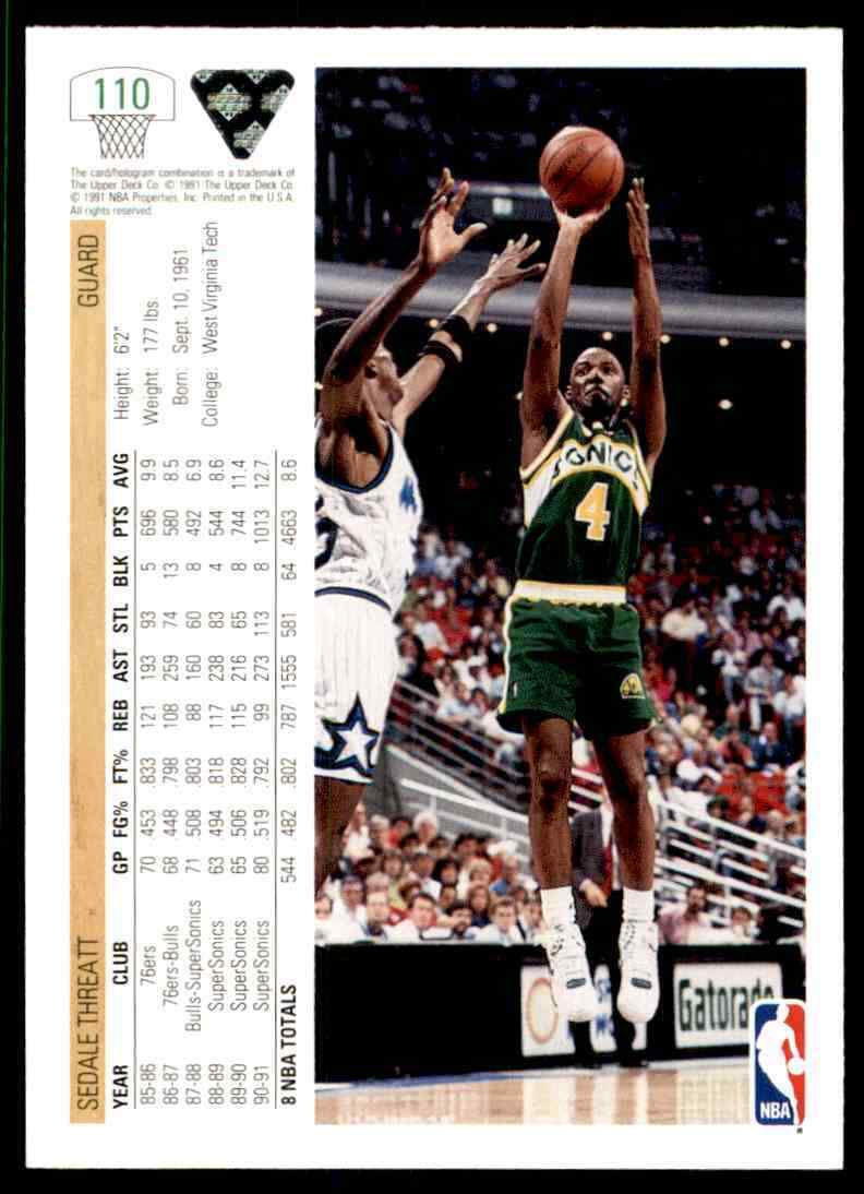 thumbnail 363 - 1991-92 Upper Deck Basketball NBA Choose Your Player -Real Pics Rookie Star (B