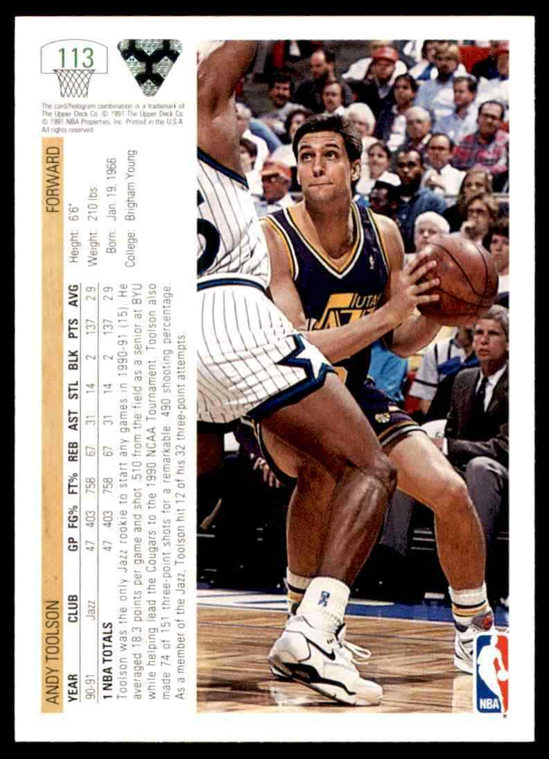 thumbnail 24 - 1991-92 Upper Deck Basketball NBA Choose Your Player -Real Pics Rookie Star (B