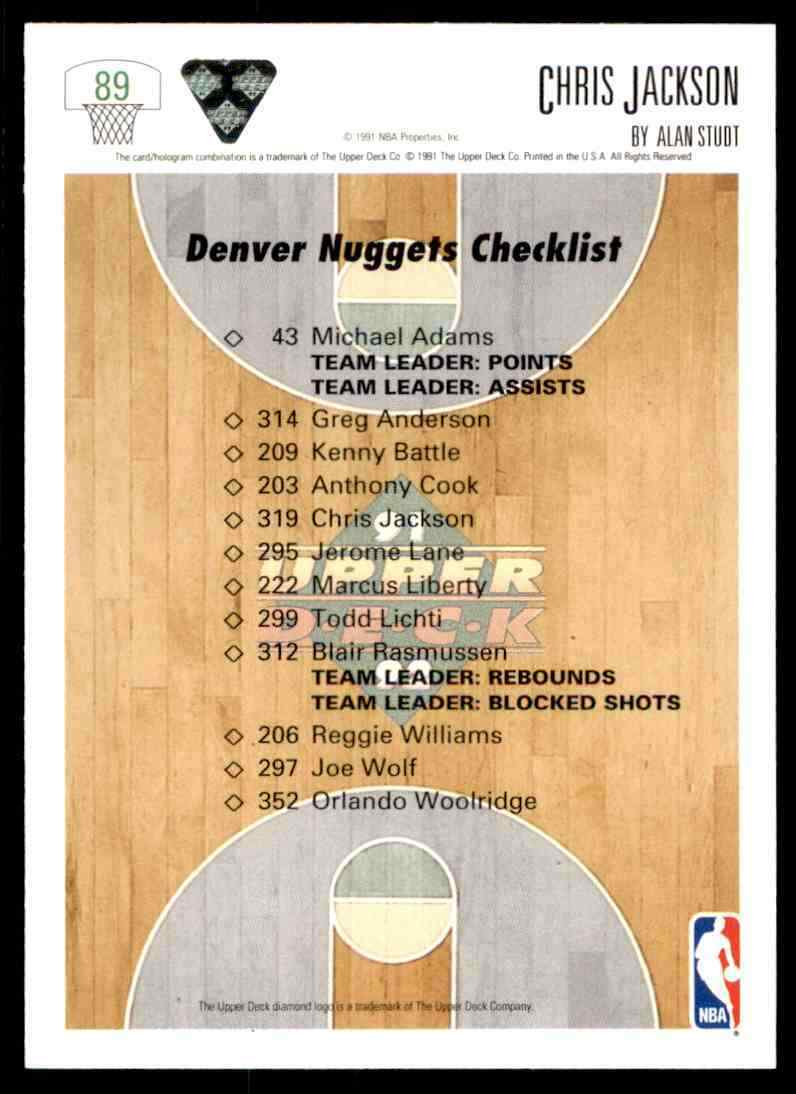 thumbnail 92 - 1991-92 Upper Deck Basketball NBA Choose Your Player -Real Pics Rookie Star (B