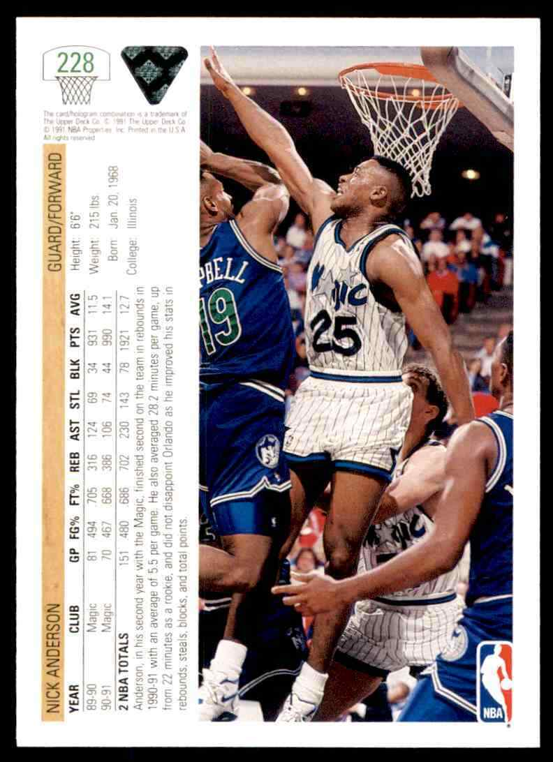 thumbnail 300 - 1991-92 Upper Deck Basketball NBA Choose Your Player -Real Pics Rookie Star (B