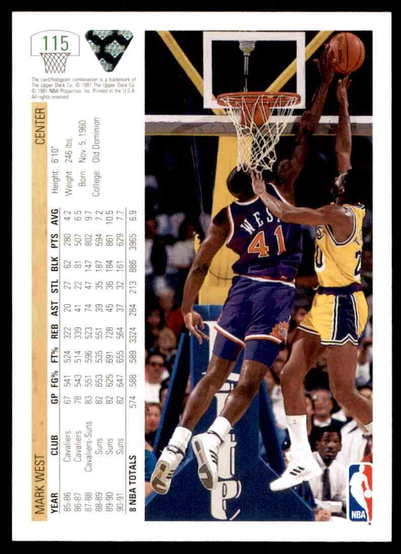 thumbnail 276 - 1991-92 Upper Deck Basketball NBA Choose Your Player -Real Pics Rookie Star (B