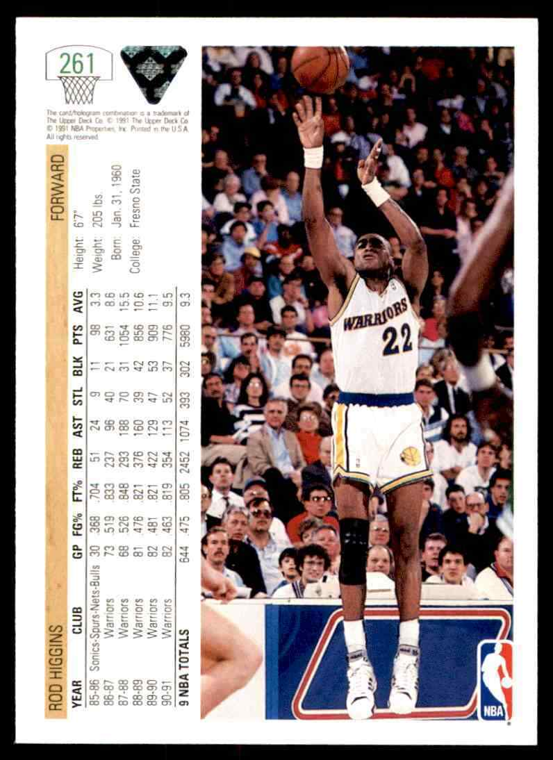 thumbnail 344 - 1991-92 Upper Deck Basketball NBA Choose Your Player -Real Pics Rookie Star (B