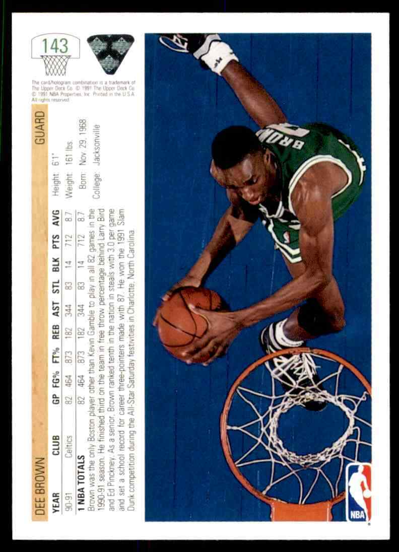 thumbnail 110 - 1991-92 Upper Deck Basketball NBA Choose Your Player -Real Pics Rookie Star (B