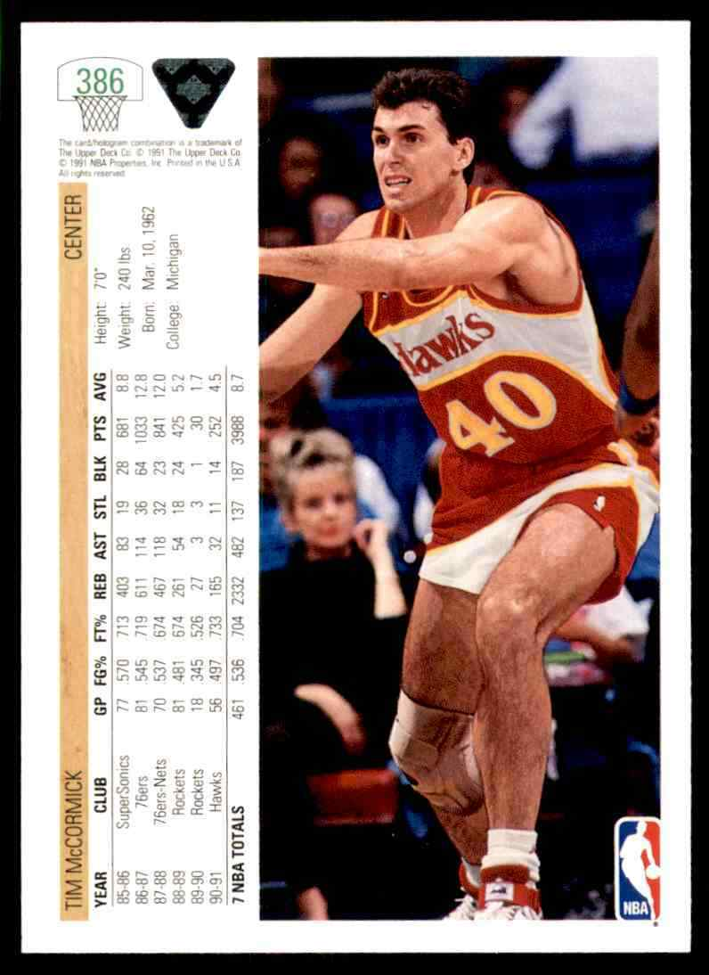 thumbnail 391 - 1991-92 Upper Deck Basketball NBA Choose Your Player -Real Pics Rookie Star (B