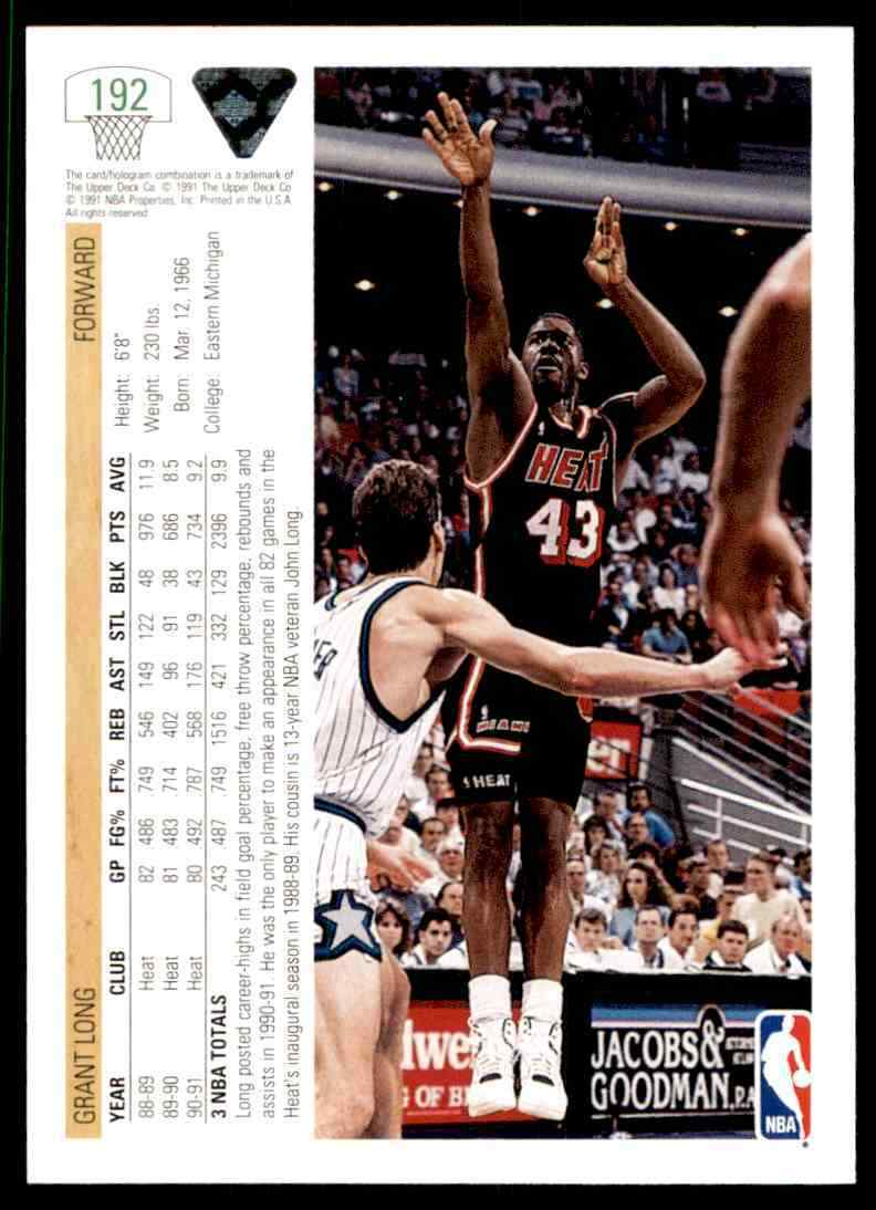 thumbnail 158 - 1991-92 Upper Deck Basketball NBA Choose Your Player -Real Pics Rookie Star (B